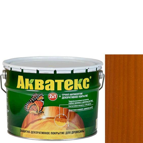 Фото 1 - Антисептик пропитка Акватекс Тик, защитно-декоративный полуглянцевый для древесины [10 л] Рогнеда.