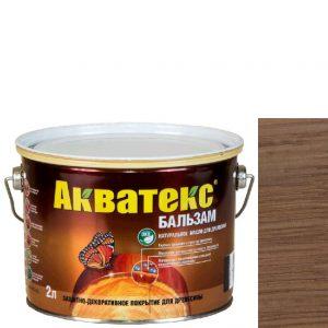 """Фото 9 - Масло """"Акватекс Бальзам"""" Лиственница, натуральное матовое для древесины  [0,75 л - уп. 6 шт] Акватекс/Аquatex."""