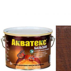 """Фото 8 - Масло """"Акватекс Бальзам"""" Махагон, натуральное матовое для древесины  [0,75 л - уп. 6 шт] Акватекс/Аquatex."""