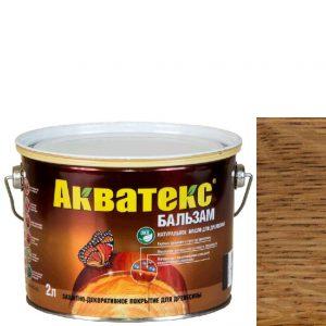 """Фото 5 - Масло """"Акватекс Бальзам"""" Тик, натуральное матовое для древесины  [0,75 л - уп. 6 шт] Акватекс/Аquatex."""