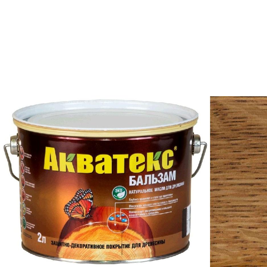 """Фото 15 - Масло """"Акватекс Бальзам"""" Тик, натуральное матовое для древесины  [0,75 л - уп. 6 шт] Рогнеда."""