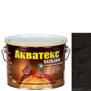 """Фото 4 - Масло """"Акватекс Бальзам"""" Эбеновое дерево, натуральное матовое для древесины  [0,75 л - уп. 6 шт] Акватекс/Аquatex."""