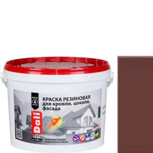 "Фото 5 - Краска Дали ""Резиновая"" Коричневая, защитно-декоративная глубокоматовая  [3кг] Dali."