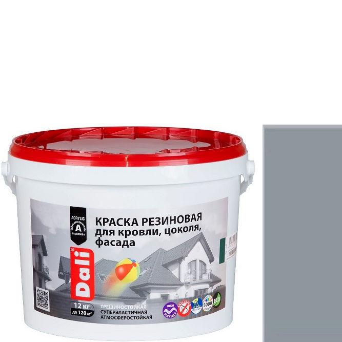 """Фото 18 - Краска Дали """"Резиновая"""" Серая, защитно-декоративная глубокоматовая  [12кг] Dali."""