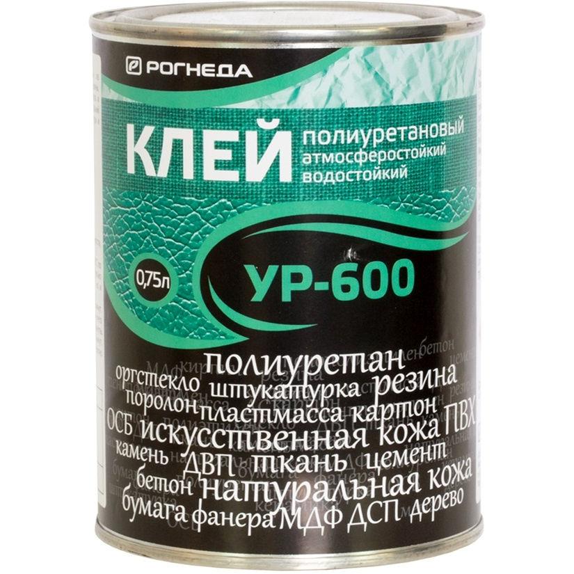 """Фото 1 - Клей """"УР-600"""" полиуретановый водостойкий  [0,75 л - уп. 6 шт] Рогнеда."""