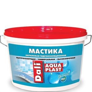 "Фото 1 - Мастика Дали ""Аква Пласт"" (Aqua Plast) акриловая гидроизоляционная универсальная  [5л] Dali."