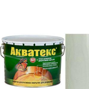 Фото 1 - Антисептик пропитка Акватекс Белый, защитно-декоративный полуглянцевый для древесины [10 л] Рогнеда.