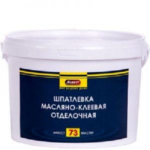 """Фото 4 - Шпатлевка """"Аквест -73 Мастер"""" масляно-клеевая отделочная для внутренних  работ-25 кг."""