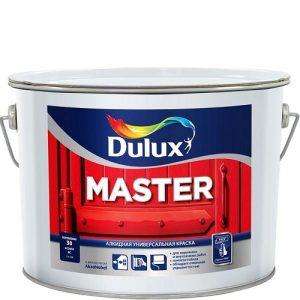 Фото 9 - Краска Дулюкс Мастер М30 (Master М30) алкидная полуматовая универсального применения база BW [2.5л] Dulux.