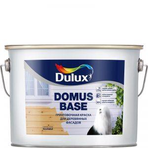 Фото 5 - Грунт-Краска Дулюкс Домус База (Domus Base) белая фасадная для деревянных поверхностей [10л] Dulux.