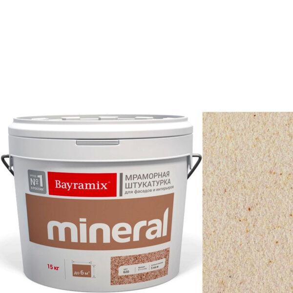 "Фото 1 - Мраморная штукатурка Байрамикс ""Минерал 343"" (Mineral) мозаичная фракция 0,7-1,2 мм  [15кг]  Bayramix."