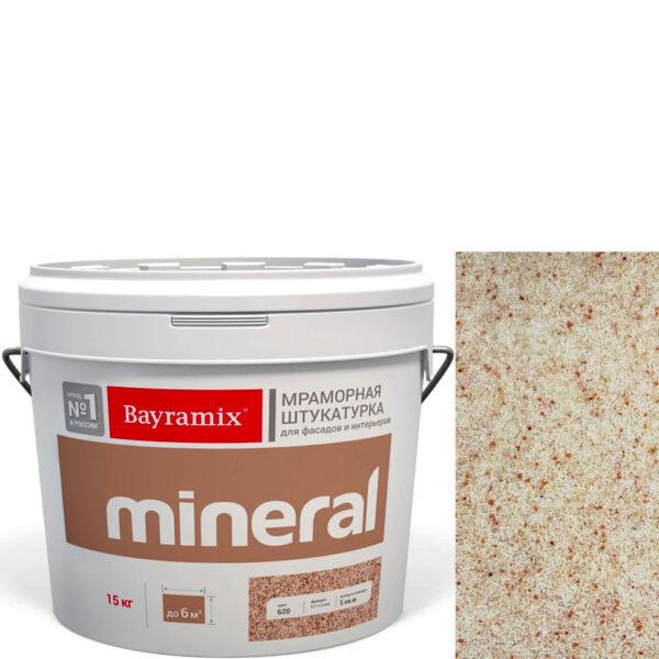 "Фото 1 - Мраморная штукатурка Байрамикс ""Минерал 353"" (Mineral) мозаичная фракция 0,7-1,2 мм  [15кг]  Bayramix."