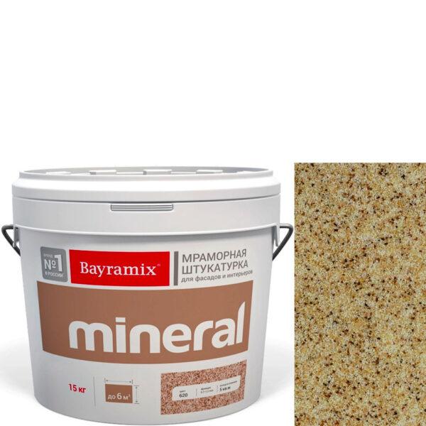 "Фото 1 - Мраморная штукатурка Байрамикс ""Минерал 365"" (Mineral) мозаичная фракция 0,7-1,2 мм  [15кг]  Bayramix."