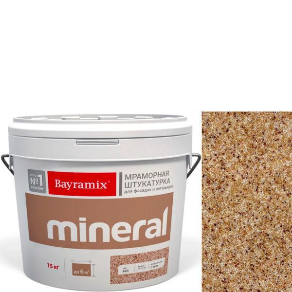 "Фото 1 - Мраморная штукатурка Байрамикс ""Минерал 370"" (Mineral) мозаичная фракция 0,7-1,2 мм  [15кг]  Bayramix."