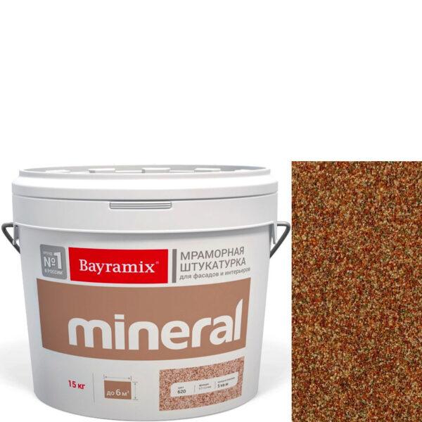"Фото 1 - Мраморная штукатурка Байрамикс ""Минерал 428"" (Mineral) мозаичная фракция 0,7-1,2 мм  [15кг]  Bayramix."
