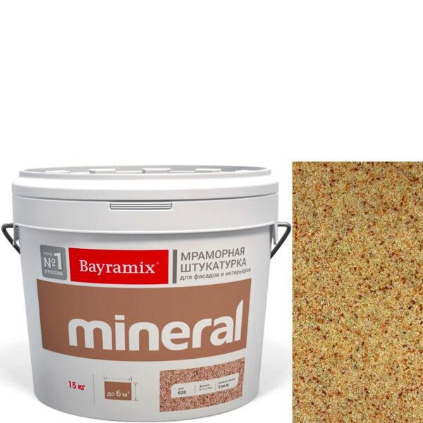 "Фото 1 - Мраморная штукатурка Байрамикс ""Минерал 434"" (Mineral) мозаичная фракция 0,7-1,2 мм  [15кг]  Bayramix."