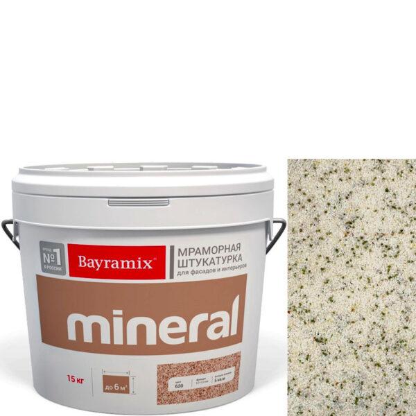 "Фото 1 - Мраморная штукатурка Байрамикс ""Минерал 440"" (Mineral) мозаичная фракция 0,7-1,2 мм  [15кг]  Bayramix."