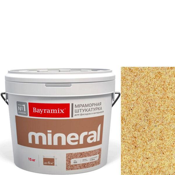 "Фото 1 - Мраморная штукатурка Байрамикс ""Минерал 454"" (Mineral) мозаичная фракция 0,7-1,2 мм  [15кг]  Bayramix."