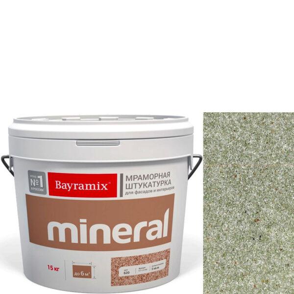 "Фото 1 - Мраморная штукатурка Байрамикс ""Минерал 457"" (Mineral) мозаичная фракция 0,7-1,2 мм  [15кг]  Bayramix."