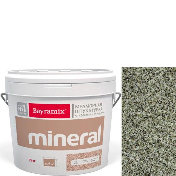 "Фото 1 - Мраморная штукатурка Байрамикс ""Минерал 460"" (Mineral) мозаичная фракция 0,7-1,2 мм  [15кг]  Bayramix."