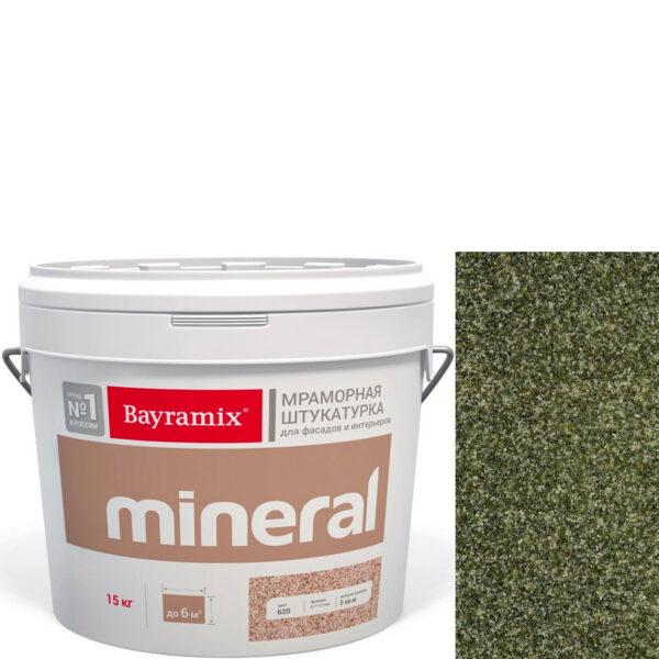 "Фото 1 - Мраморная штукатурка Байрамикс ""Минерал 461"" (Mineral) мозаичная фракция 0,7-1,2 мм  [15кг]  Bayramix."