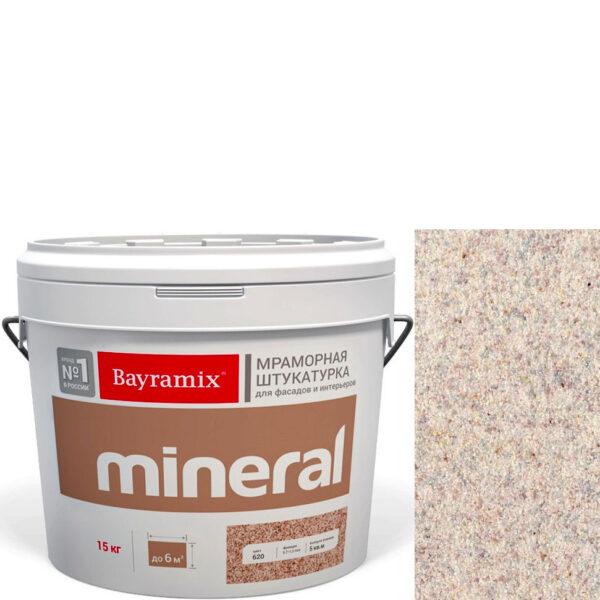 "Фото 1 - Мраморная штукатурка Байрамикс ""Минерал 474"" (Mineral) мозаичная фракция 0,7-1,2 мм  [15кг]  Bayramix."