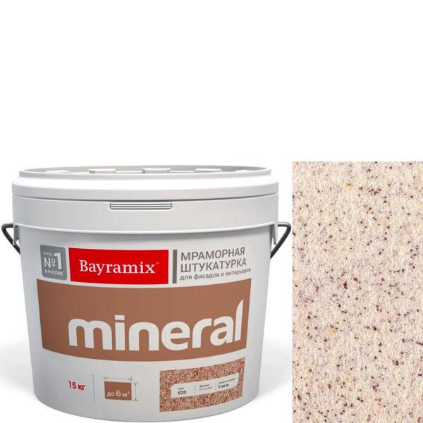 "Фото 1 - Мраморная штукатурка Байрамикс ""Минерал 475"" (Mineral) мозаичная фракция 0,7-1,2 мм  [15кг]  Bayramix."
