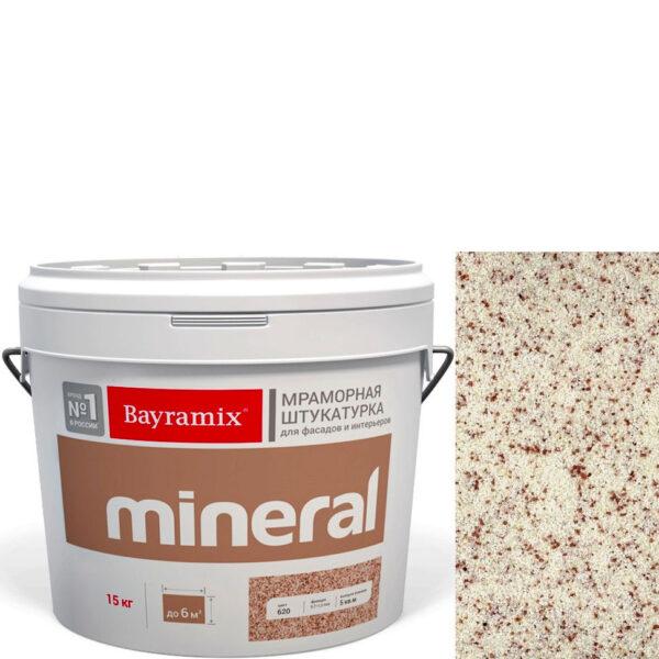"Фото 1 - Мраморная штукатурка Байрамикс ""Минерал 481"" (Mineral) мозаичная фракция 0,7-1,2 мм  [15кг]  Bayramix."