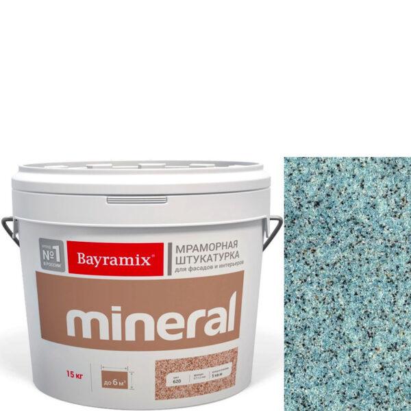 "Фото 1 - Мраморная штукатурка Байрамикс ""Минерал 495"" (Mineral) мозаичная фракция 0,7-1,2 мм  [15кг]  Bayramix."
