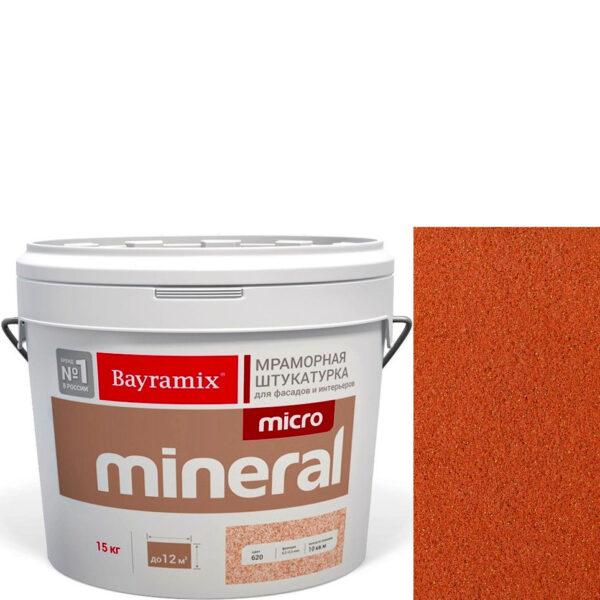 "Фото 1 - Мраморная штукатурка Байрамикс ""Микроминерал 640 + gold"" (Micro Mineral) мраморная, фракция 0,2-0,5 мм  [15кг]  Bayramix."