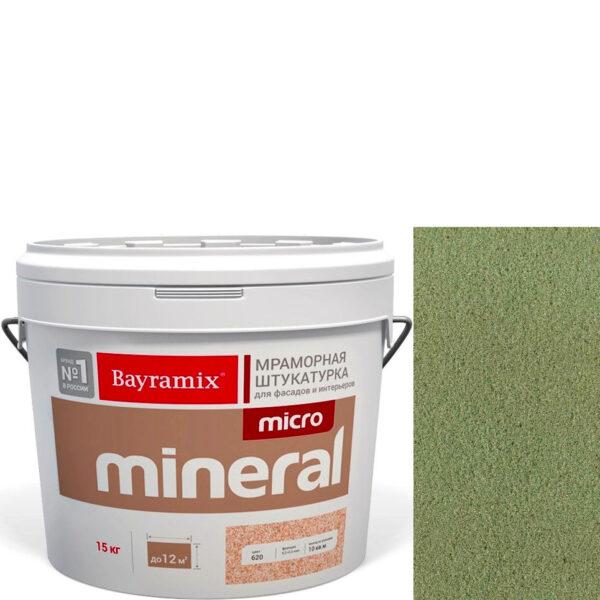 "Фото 1 - Мраморная штукатурка Байрамикс ""Микроминерал 648"" (Micro Mineral) мраморная, фракция 0,2-0,5 мм  [15кг]  Bayramix."