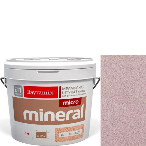 "Фото 1 - Мраморная штукатурка Байрамикс ""Микроминерал 649"" (Micro Mineral) мраморная, фракция 0,2-0,5 мм  [15кг]  Bayramix."