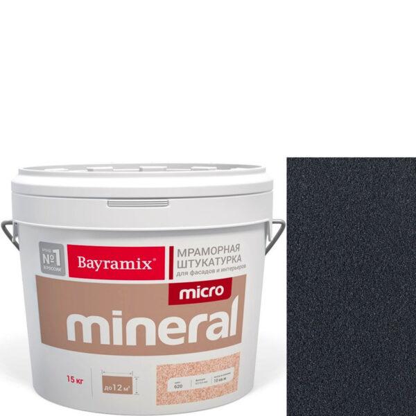 "Фото 1 - Мраморная штукатурка Байрамикс ""Микроминерал 652"" (Micro Mineral) мраморная, фракция 0,2-0,5 мм  [15кг]  Bayramix."
