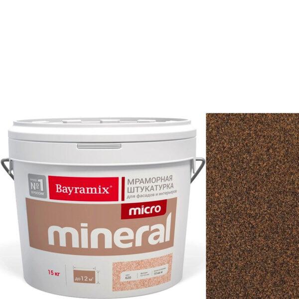 "Фото 1 - Мраморная штукатурка Байрамикс ""Микроминерал 663"" (Micro Mineral) мраморная, фракция 0,2-0,5 мм  [15кг]  Bayramix."