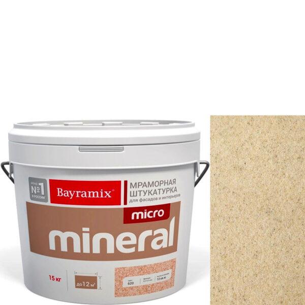 "Фото 1 - Мраморная штукатурка Байрамикс ""Микроминерал 665"" (Micro Mineral) мраморная, фракция 0,2-0,5 мм  [15кг]  Bayramix."