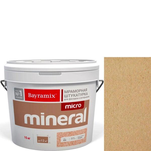 "Фото 1 - Мраморная штукатурка Байрамикс ""Микроминерал 667"" (Micro Mineral) мраморная, фракция 0,2-0,5 мм  [15кг]  Bayramix."