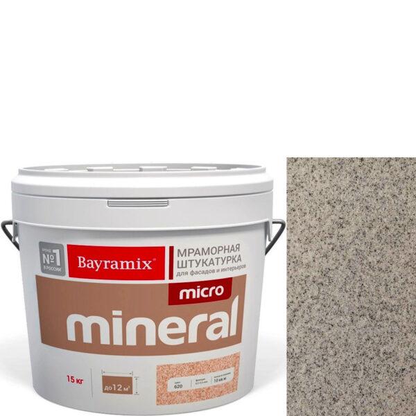 "Фото 1 - Мраморная штукатурка Байрамикс ""Микроминерал 670"" (Micro Mineral) мраморная, фракция 0,2-0,5 мм  [15кг]  Bayramix."