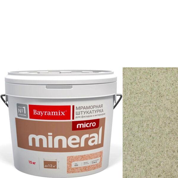 "Фото 1 - Мраморная штукатурка Байрамикс ""Микроминерал 671"" (Micro Mineral) мраморная, фракция 0,2-0,5 мм  [15кг]  Bayramix."