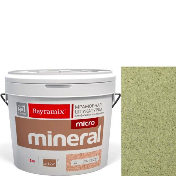 "Фото 1 - Мраморная штукатурка Байрамикс ""Микроминерал 672"" (Micro Mineral) мраморная, фракция 0,2-0,5 мм  [15кг]  Bayramix."