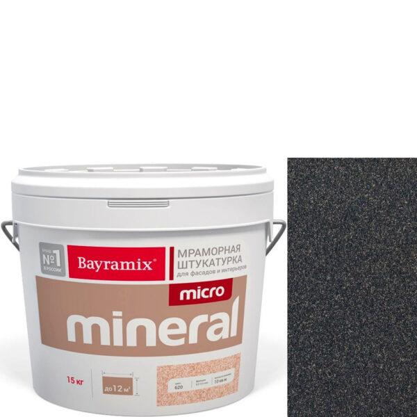 "Фото 1 - Мраморная штукатурка Байрамикс ""Микроминерал 674"" (Micro Mineral) мраморная, фракция 0,2-0,5 мм  [15кг]  Bayramix."