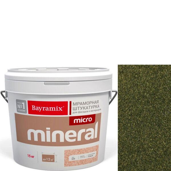 "Фото 1 - Мраморная штукатурка Байрамикс ""Микроминерал 675"" (Micro Mineral) мраморная, фракция 0,2-0,5 мм  [15кг]  Bayramix."