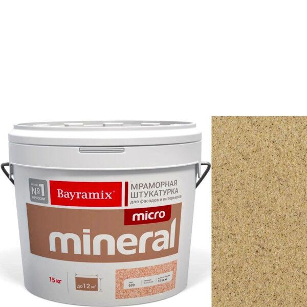 "Фото 1 - Мраморная штукатурка Байрамикс ""Микроминерал 676"" (Micro Mineral) мраморная, фракция 0,2-0,5 мм  [15кг]  Bayramix."
