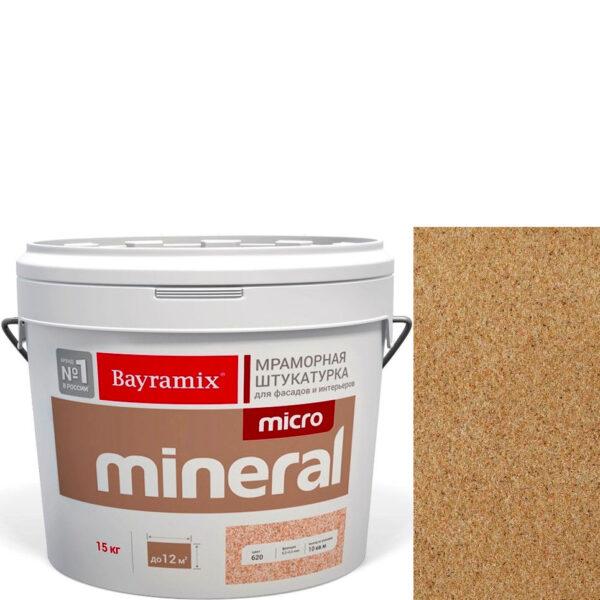 "Фото 1 - Мраморная штукатурка Байрамикс ""Микроминерал 679"" (Micro Mineral) мраморная, фракция 0,2-0,5 мм  [15кг]  Bayramix."