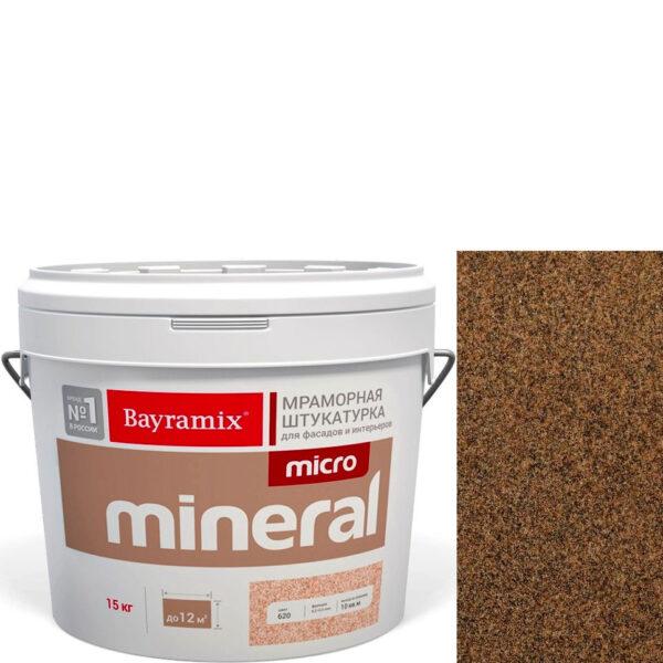 "Фото 1 - Мраморная штукатурка Байрамикс ""Микроминерал 681"" (Micro Mineral) мраморная, фракция 0,2-0,5 мм  [15кг]  Bayramix."