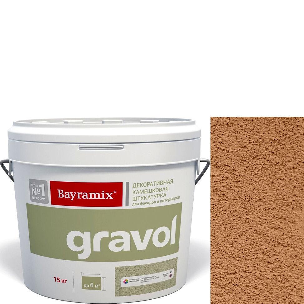 "Фото 19 - Мраморная штукатурка Байрамикс ""Гравол 070"" (Gravol) камешковая с ярко выраженной шубой, фракция 2,5 мм [15кг] Bayramix."