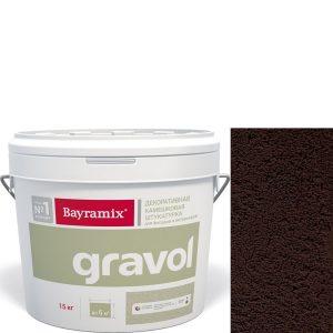 "Фото 12 - Мраморная штукатурка Байрамикс ""Гравол 073"" (Gravol) камешковая с ярко выраженной шубой, фракция 2,5 мм [15кг] Bayramix."