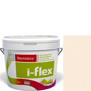 """Фото 13 - Мраморная штукатурка Байрамикс """"Ай-Флекс 065"""" (I-Flex) эластомерная  акриловая, фракция 0,7-1,2 мм  [14кг]  Bayramix."""