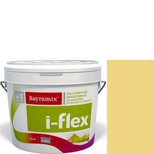 """Фото 14 - Мраморная штукатурка Байрамикс """"Ай-Флекс 066"""" (I-Flex) эластомерная  акриловая, фракция 0,7-1,2 мм  [14кг]  Bayramix."""