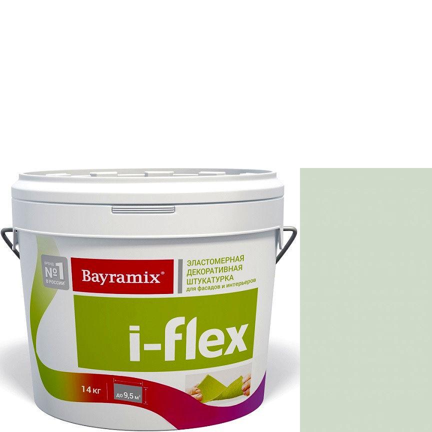 """Фото 14 - Мраморная штукатурка Байрамикс """"Ай-Флекс 075"""" (I-Flex) эластомерная  акриловая, фракция 0,7-1,2 мм  [14кг]  Bayramix."""