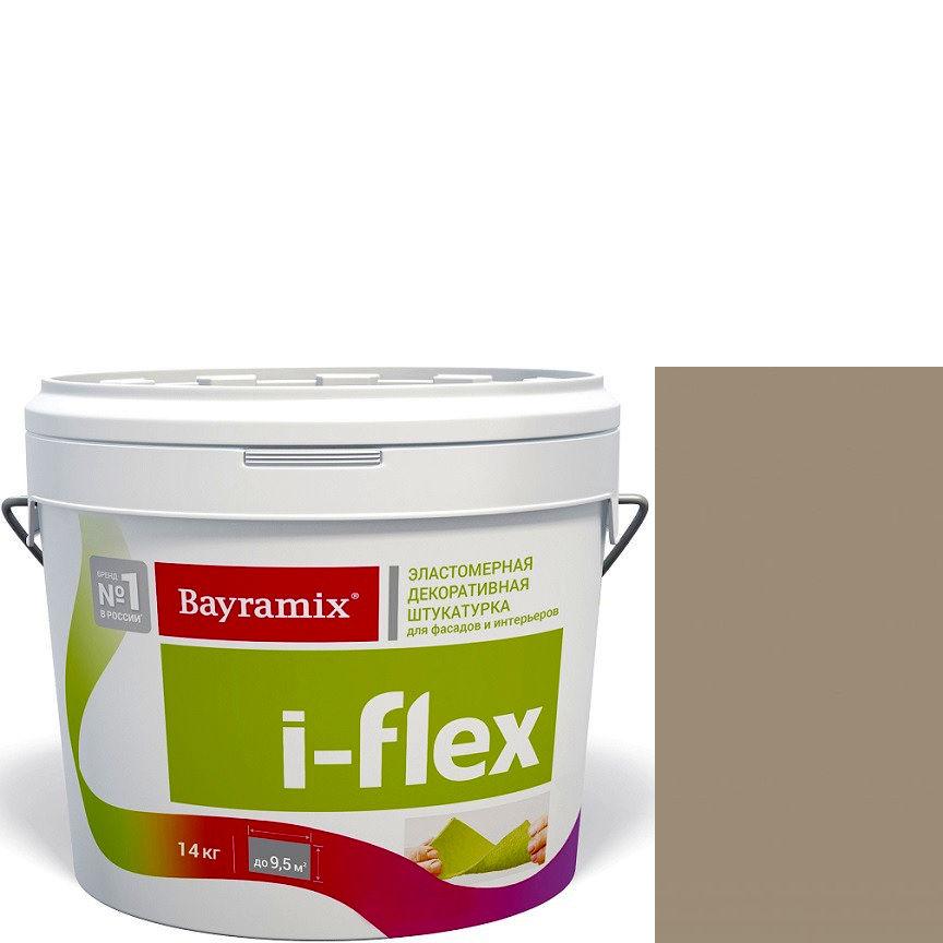 """Фото 19 - Мраморная штукатурка Байрамикс """"Ай-Флекс 080"""" (I-Flex) эластомерная  акриловая, фракция 0,7-1,2 мм  [14кг]  Bayramix."""
